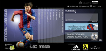 WEBSITE LEO MESSI
