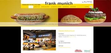 website para frank munich