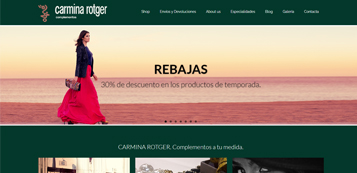 Ecommerce Carmina Rotger